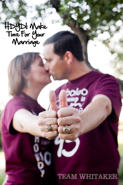 Make Time For Your Marriage
