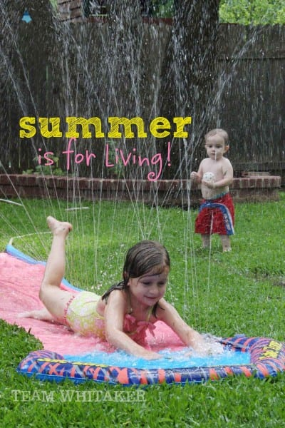 summer is for living
