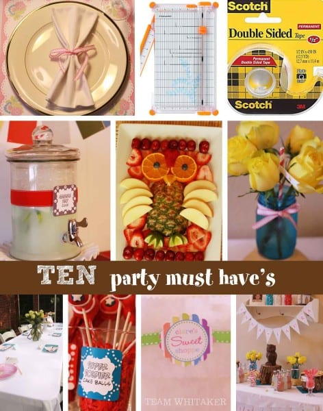 10 party must haves