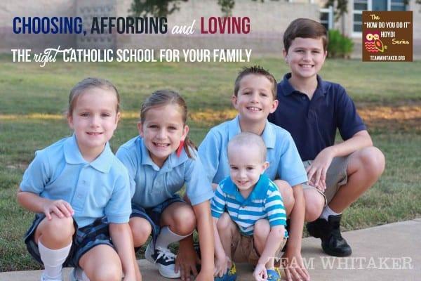 Choosing Catholic school