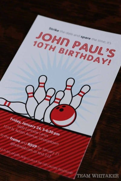 Bowlers beware! Strike the date, this party is full of ideas for your son or daughter's bowling party. Invitation ideas, party favors, creative food displays and fun games - all bowling alley approved.
