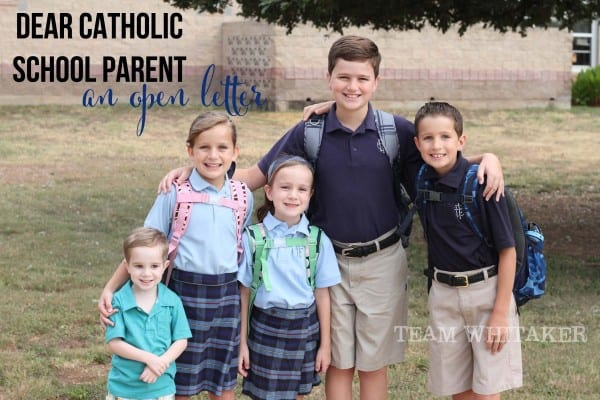 Considering Catholic school for your children? This letter speaks to why it's such an important decision and how it might be the right choice for your family.