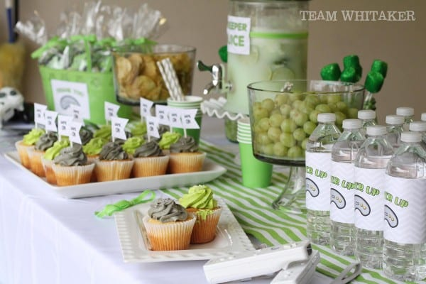 Time to get your game on. This video game birthday party has activities, creative (and tasty!) favor ideas and a rockin' dessert table.