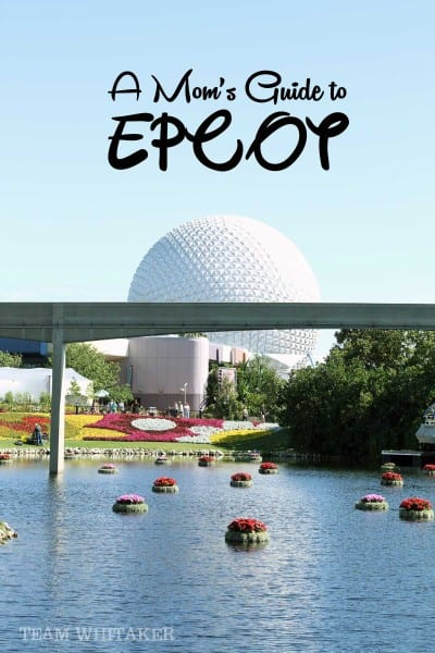 Heading to Disney's EPCOT? This park recap shares how to plan a day at the park with kids, ages 1 to 14, quiet spots for cranky babies and toddlers and a few insider tips on pastries, character meet and greets, parking and more!