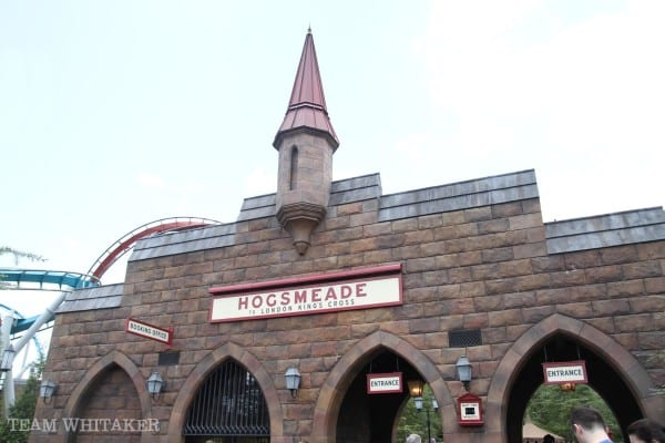 """Visiting the Wizarding World of Harry Potter at Universal Studios and Islands of Adventure? This post shares tips and ideas on how to tour Hogsmeade and Diagon Alley as a family. Ideas on which Ollivanders to visit, things to put on your """"must-do"""" list and more! Wands at the ready!"""