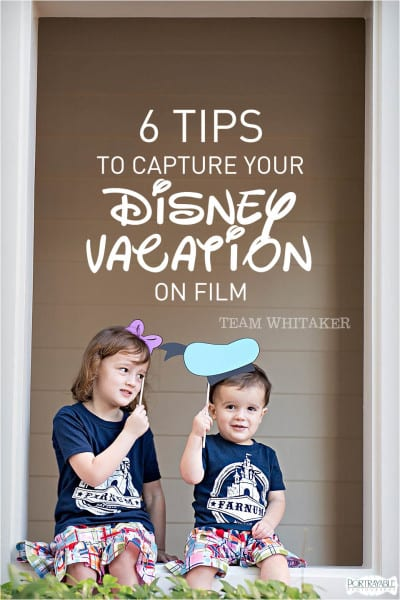 Ready for your magical week at Disney? Don't forget your camera! Whether you choose to bring your DSLR or your phone camera, these six practical tips will help you capture your magical week in style!