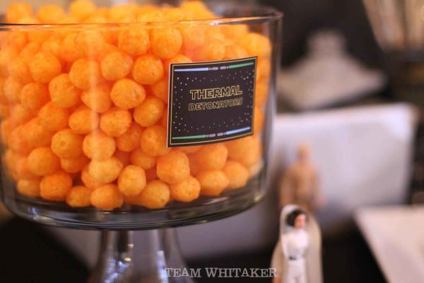 Have a Star Wars fanatic on your hands? This party is full of fun food ideas, party games, decorations and party favors to make your next galactic shin dig a total blast.