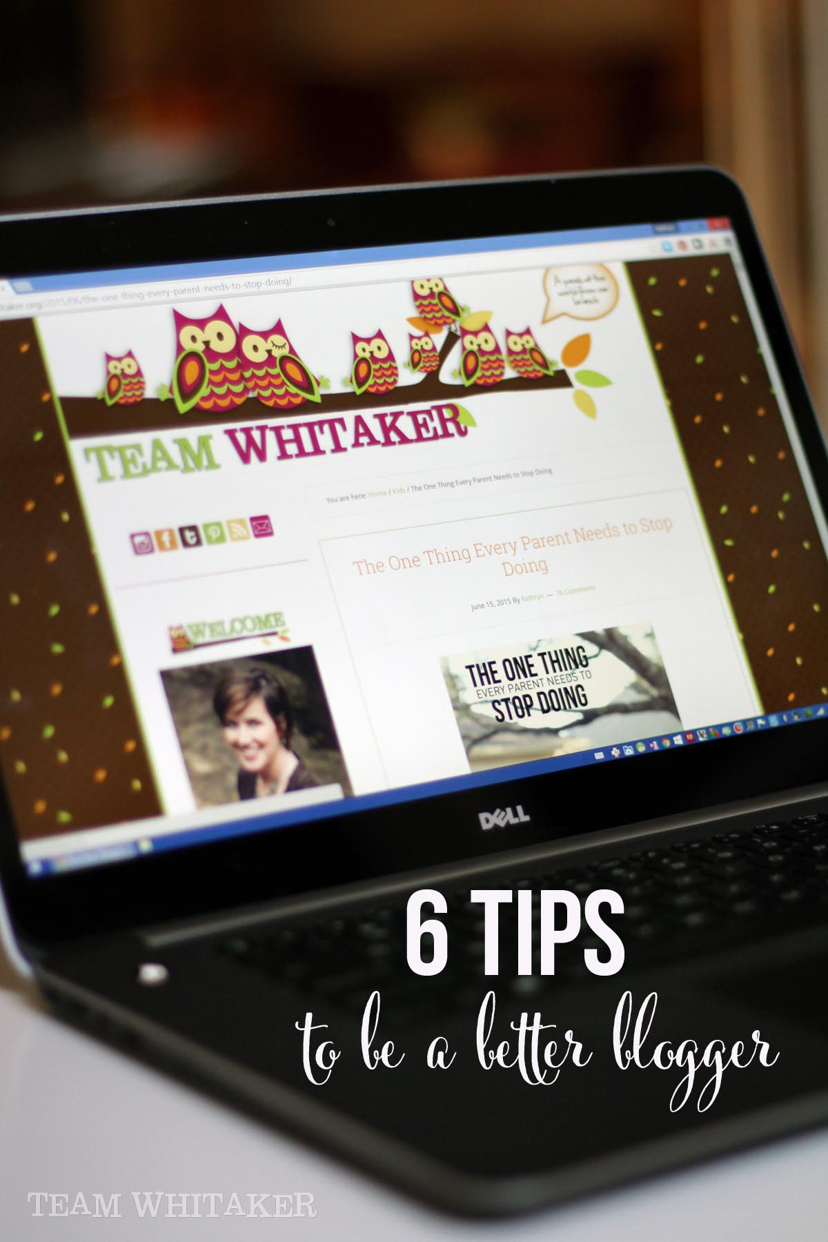 Looking for ways to connect with your blogging audience? These 6 tips will help with blog content, taking great photos, utilizing social media like Pinterest and managing your time.