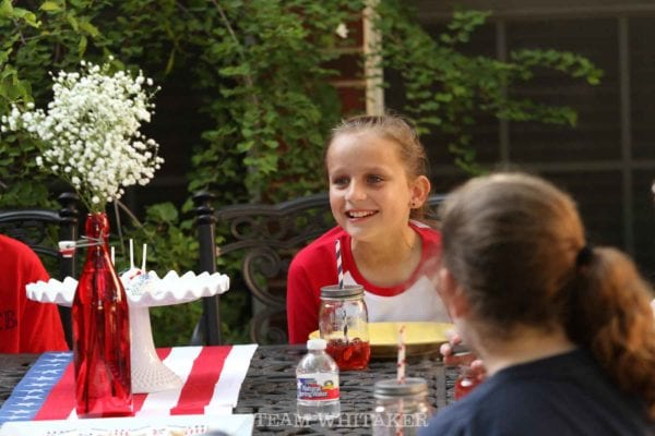 Go USA soccer! This patriotic World Cup soccer birthday for a young girl is filled with lots of red, white and blue, affordable DIY touches and details that will make you proud to be an American!