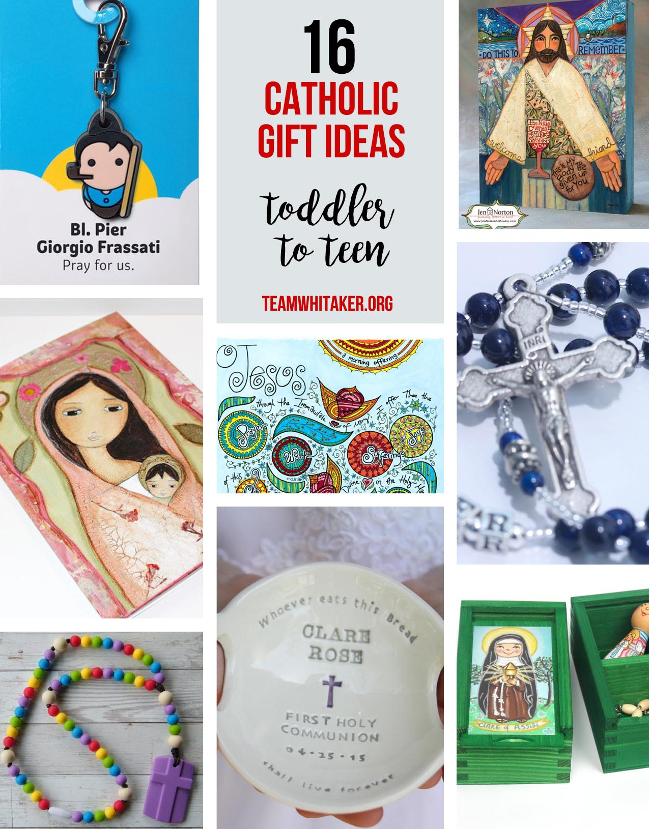 Searching for the perfect Christmas gift for your child this season? Whether you have a toddler, a teenager or a child in between, this Catholic gift guide has something for everyone on your shopping list. Bring on the joy!