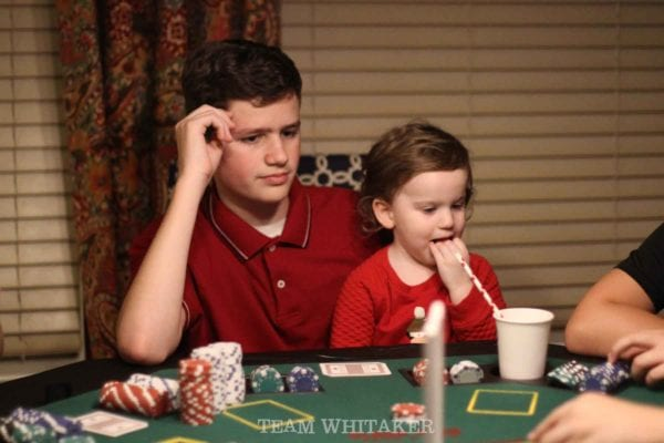 Planning a poker birthday party for your teenage son? From game ideas to inexpensive party favors, great appetizers to simple DIY decor, this party has it all! What happens here, stays here, right?!