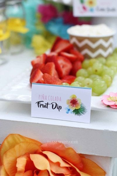 Aloha, y'all! This Hawaiian-inspired tween birthday party has sweet treats, activities, decorations and party favors ideas to make your next gathering super sweet.