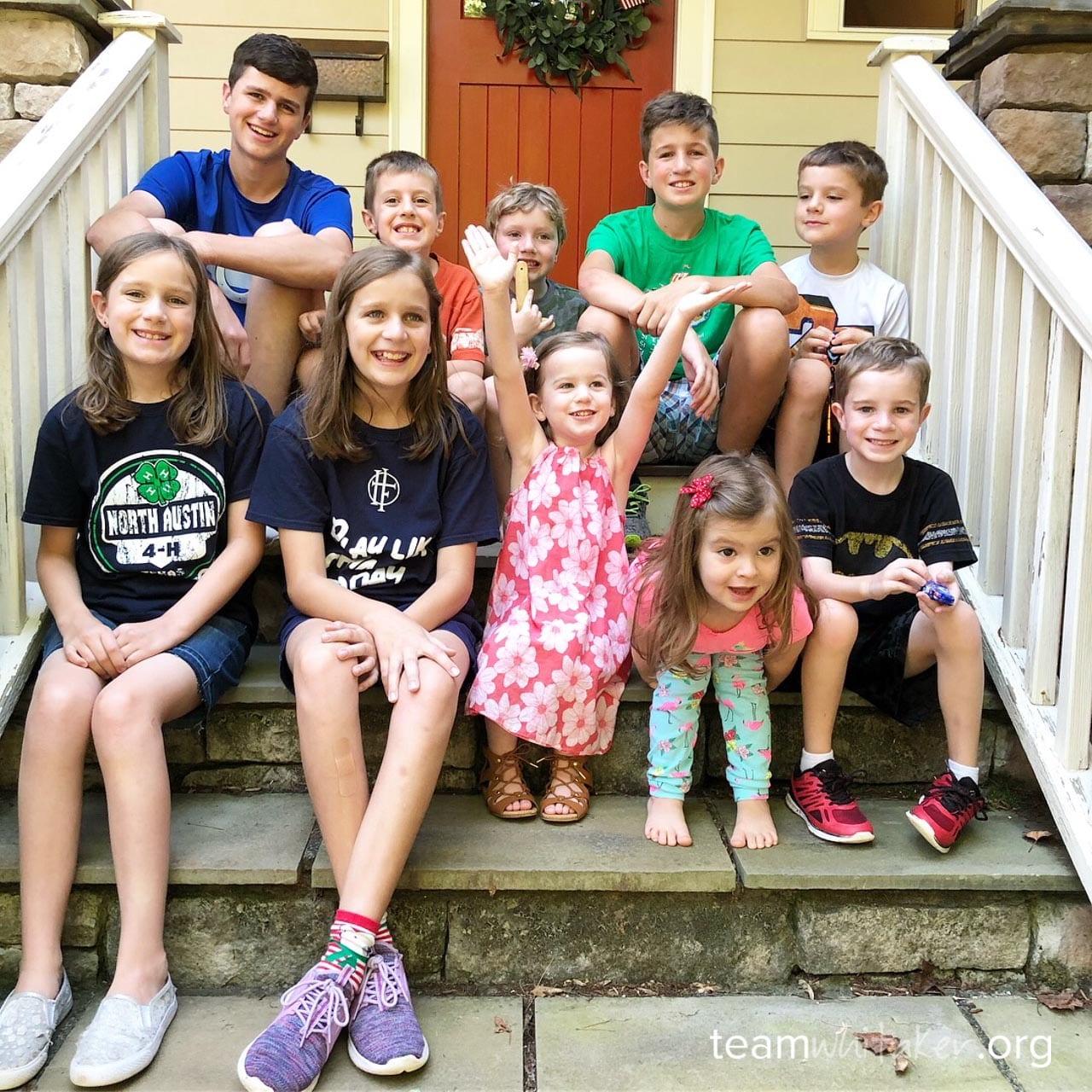 Team Whitaker | Blog | Catholic Family Life