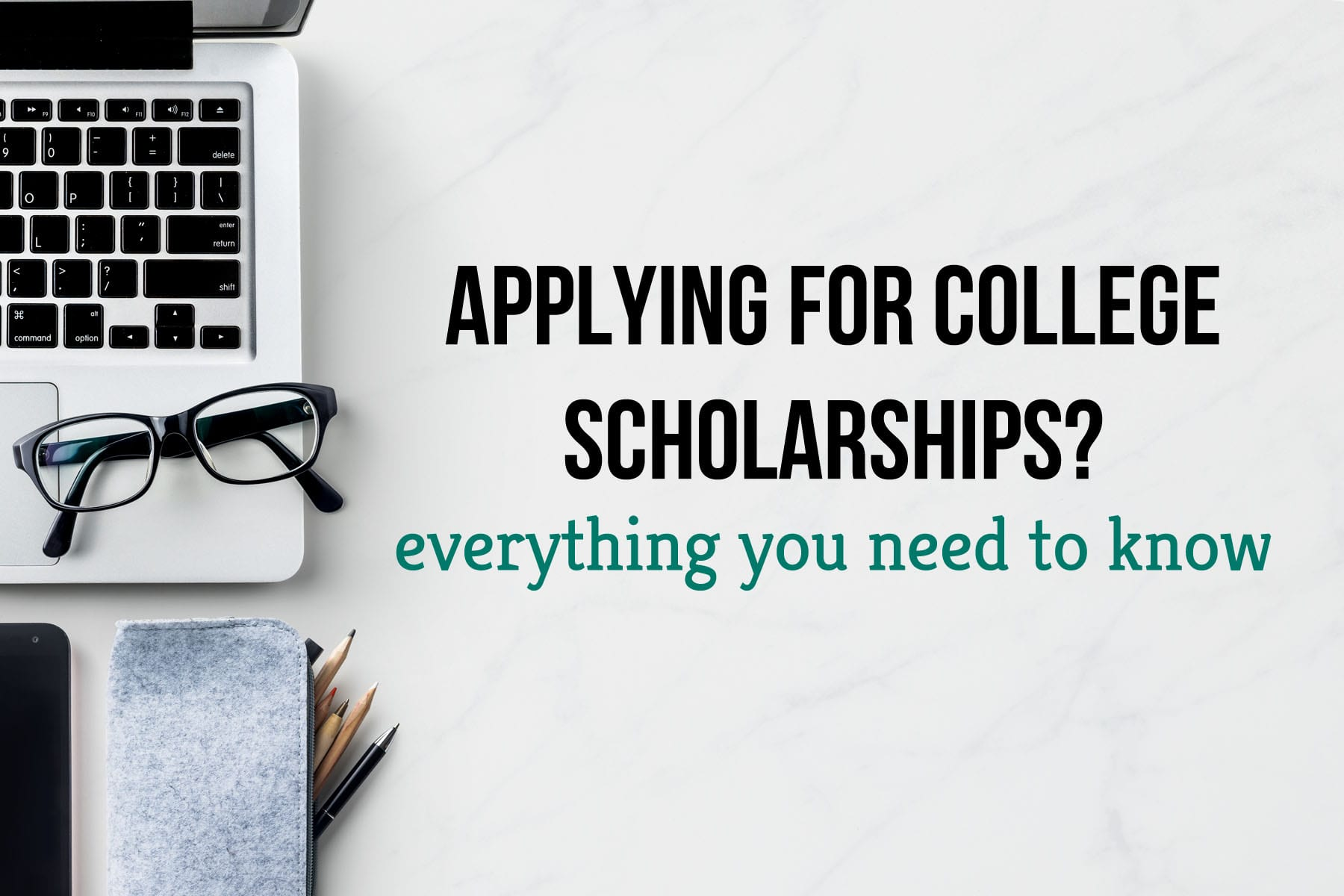 If you're feeling overwhelmed by the college scholarship application process, let this post guide you to putting your best foot forward!
