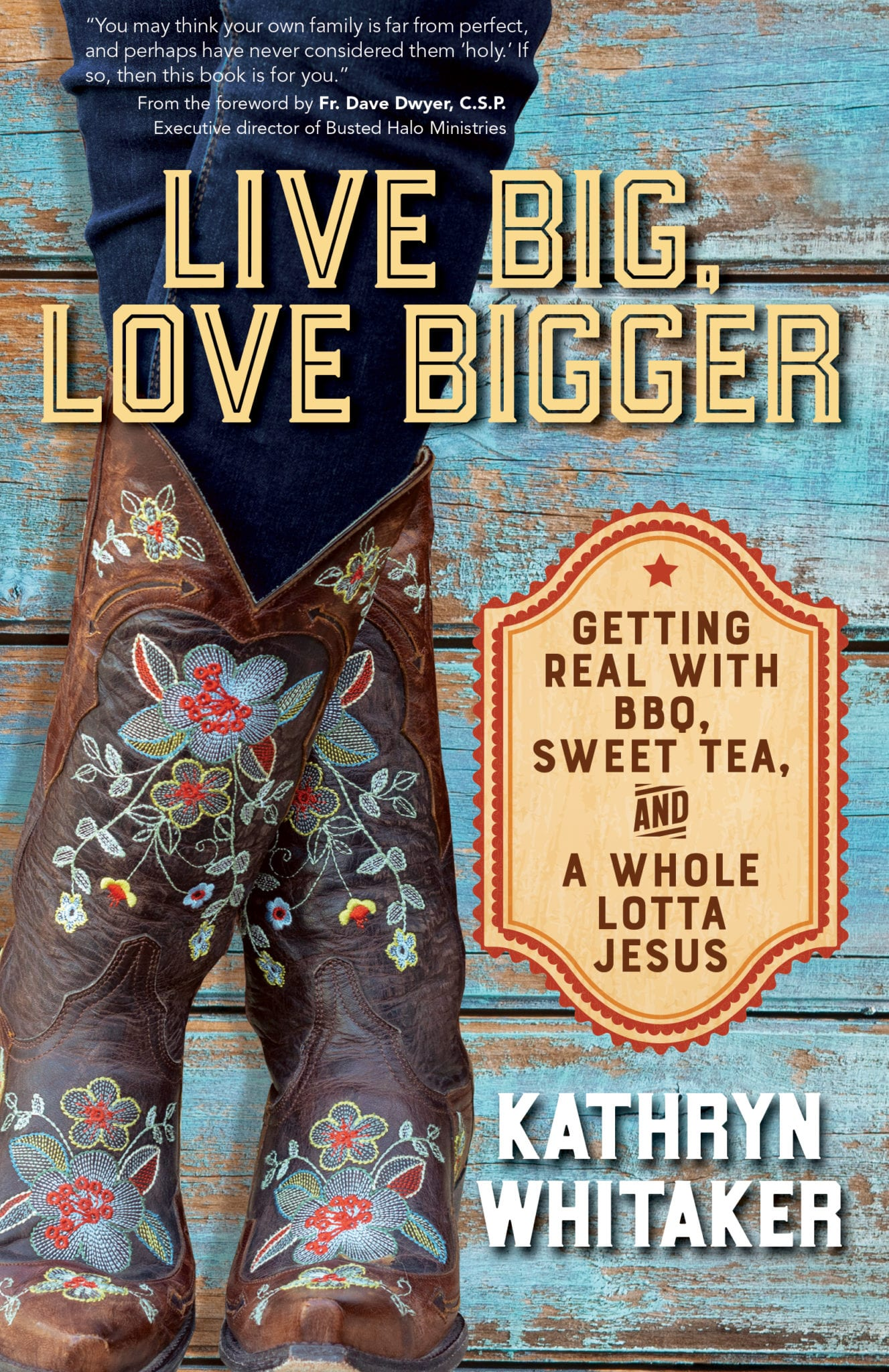 Book Cover | Live Big Love Bigger